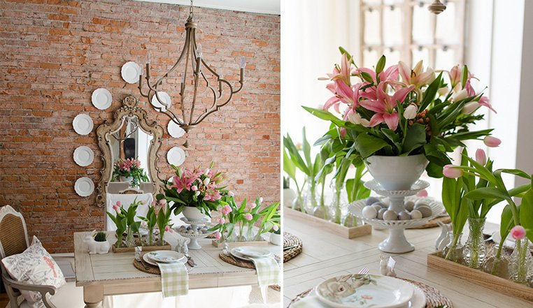 Easter Dining Room Decorations