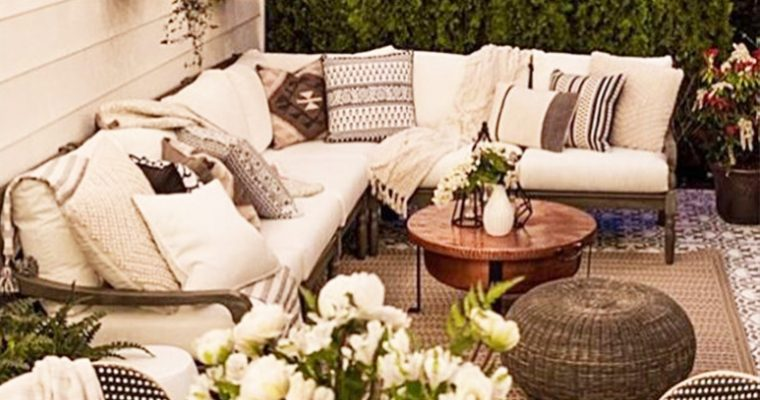 Outdoor Decorating Ideas to get your Patio Summer Ready