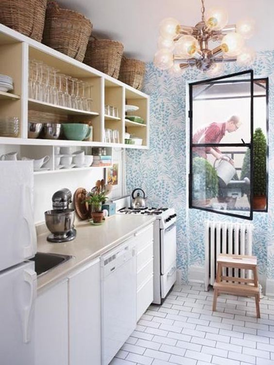 Decorating Above Kitchen Cabinets What S In What S Out In 2020