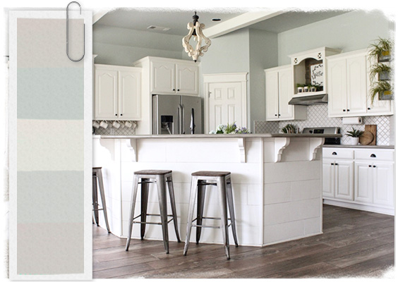 The most popular farmhouse paint colors of 2019 decor - Farmhouse interior paint colors ...