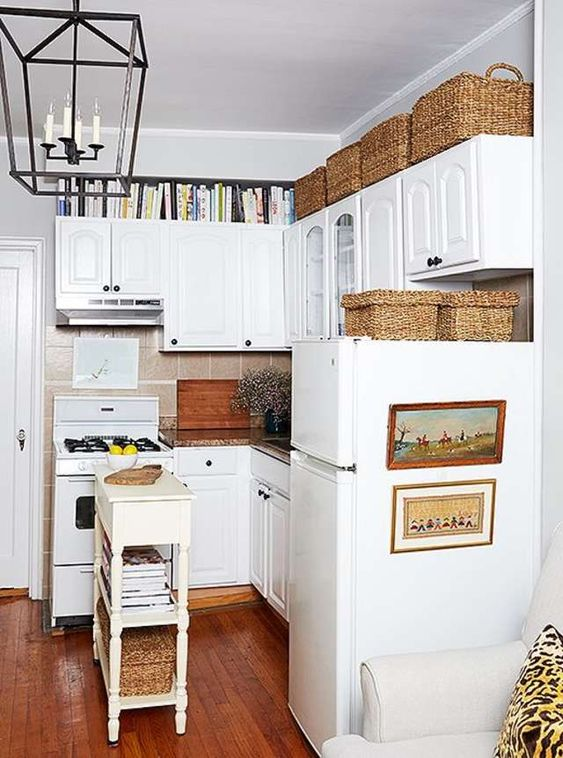Decorating Above Kitchen Cabinets: What\'s In, What\'s Out in 2020