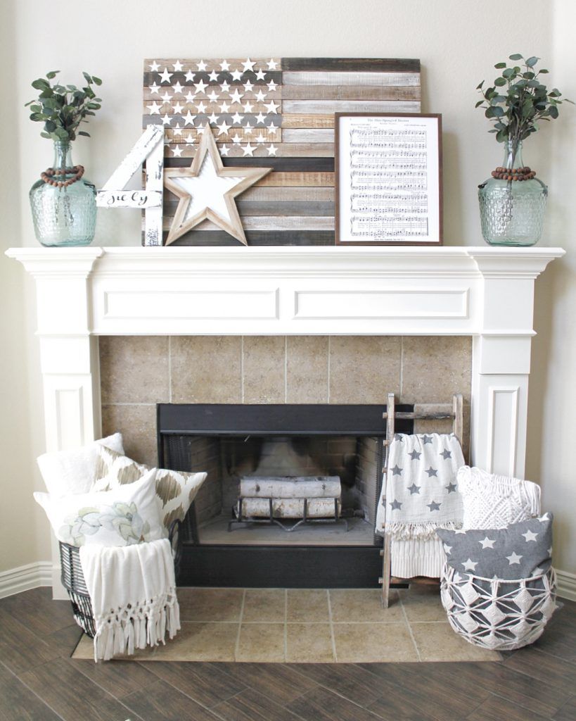 patriotic-mantel