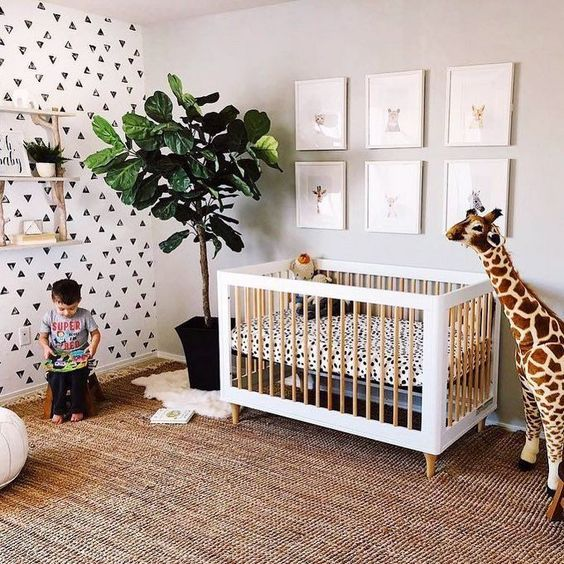 Jungle Themed Nursery