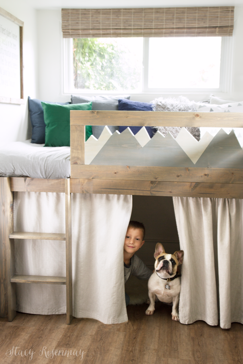 Boys Bed Lofted