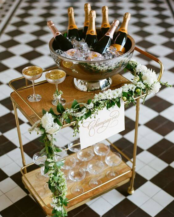 champagne-toast-bar-cart
