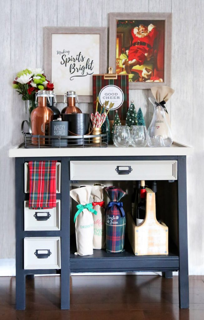 christmas-decor-bar-cart