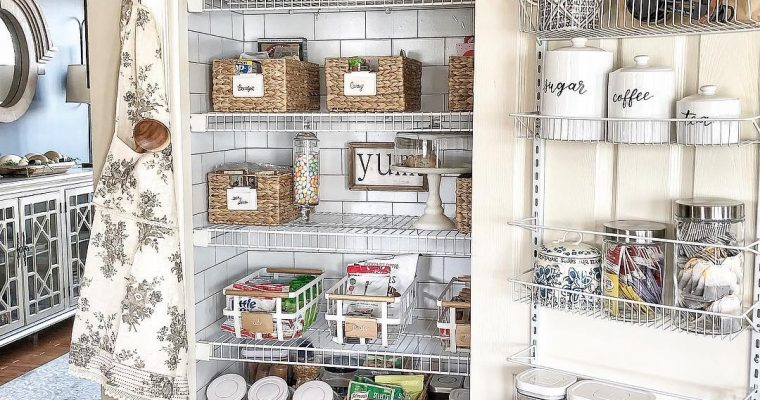 Best Pantry Shelf Organizing Ideas