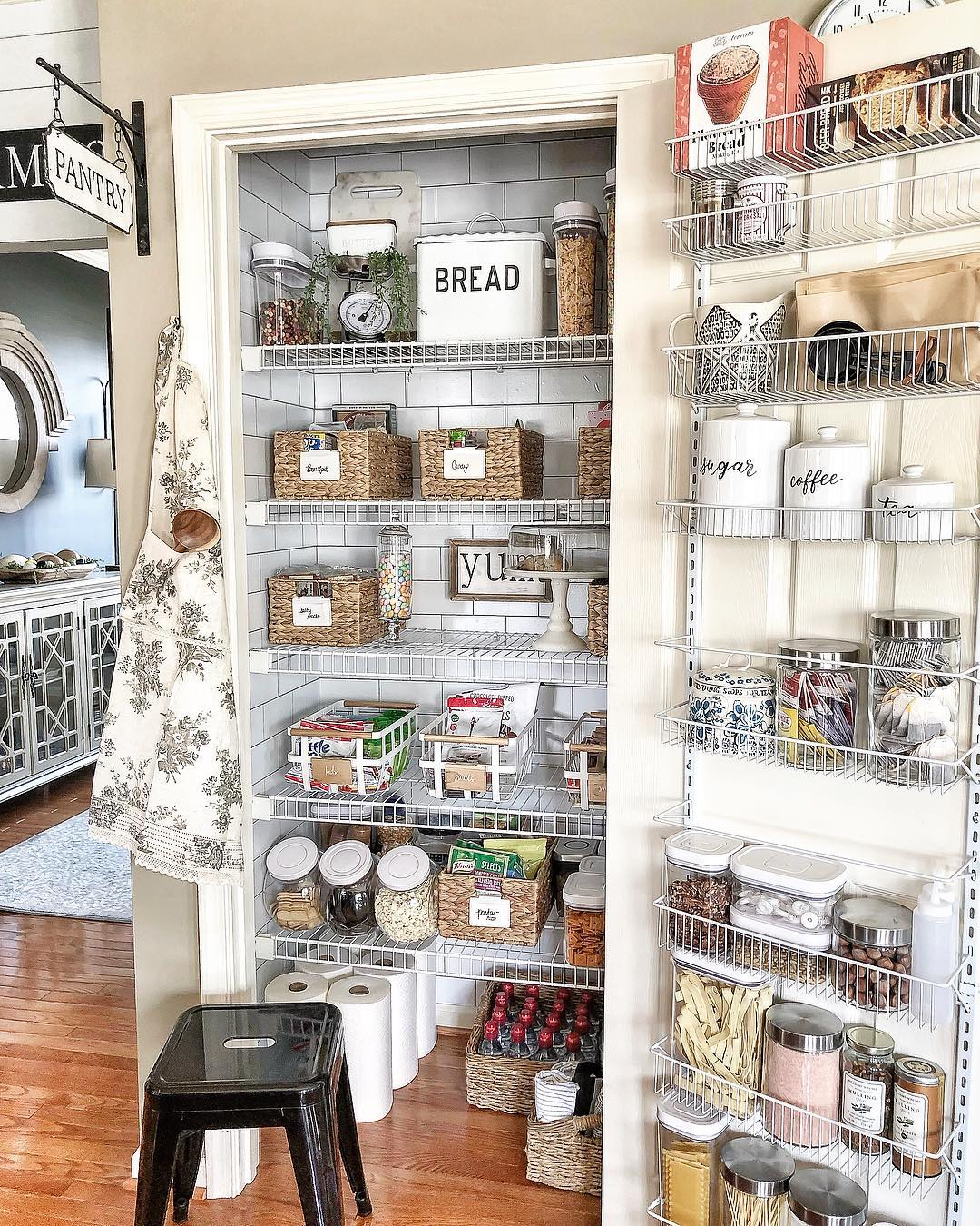 Best Pantry Shelf Organizing Ideas