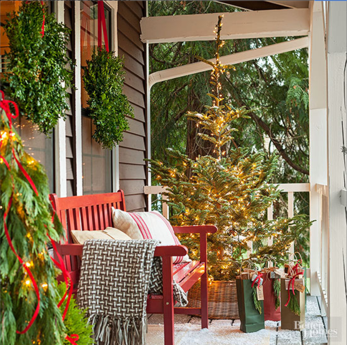 red-bench-front-porch-christmas