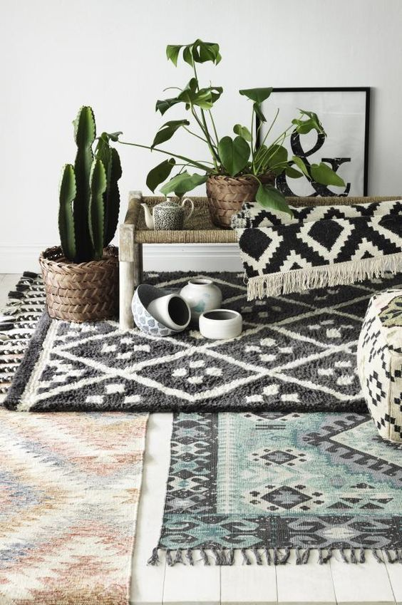Accent Rugs for Layering