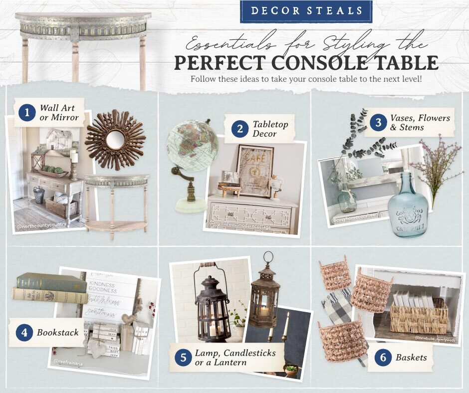 how-to-style-a-console-tablle