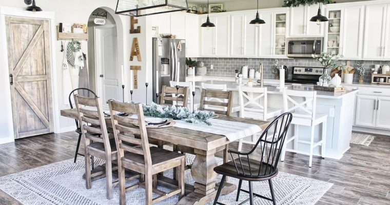 6 Farmhouse Kitchen Lighting Ideas To Brighten Up Your Home