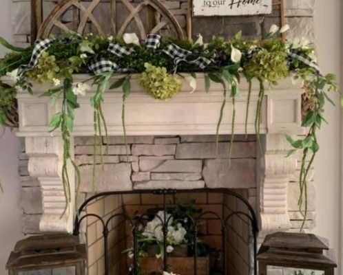 Fireplace Shelf Ideas: Beautiful Mantels with or without a Fireplace!