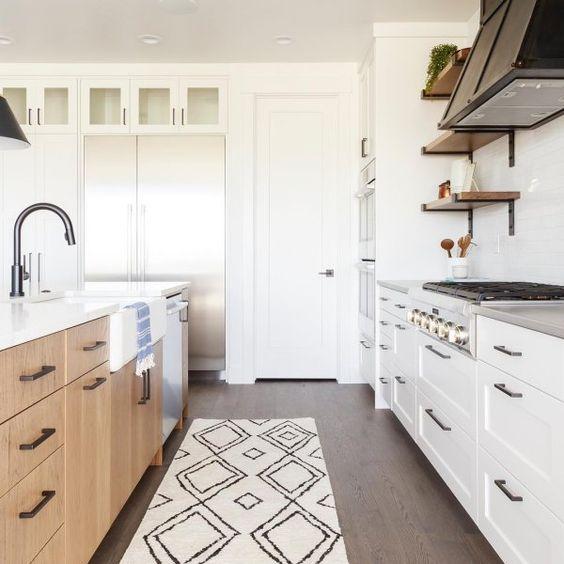 Kitchen with Snowbound Paint