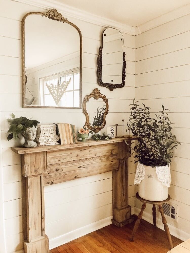 natural-wood-mantel