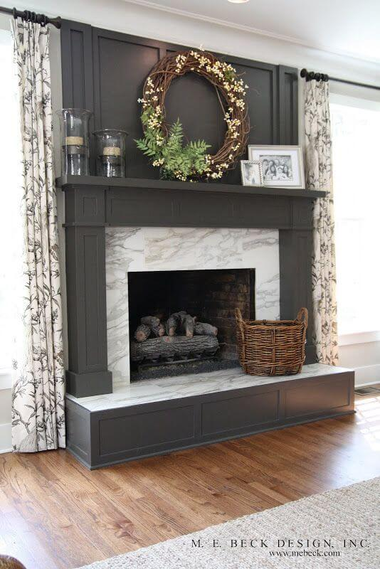 painted-mantel
