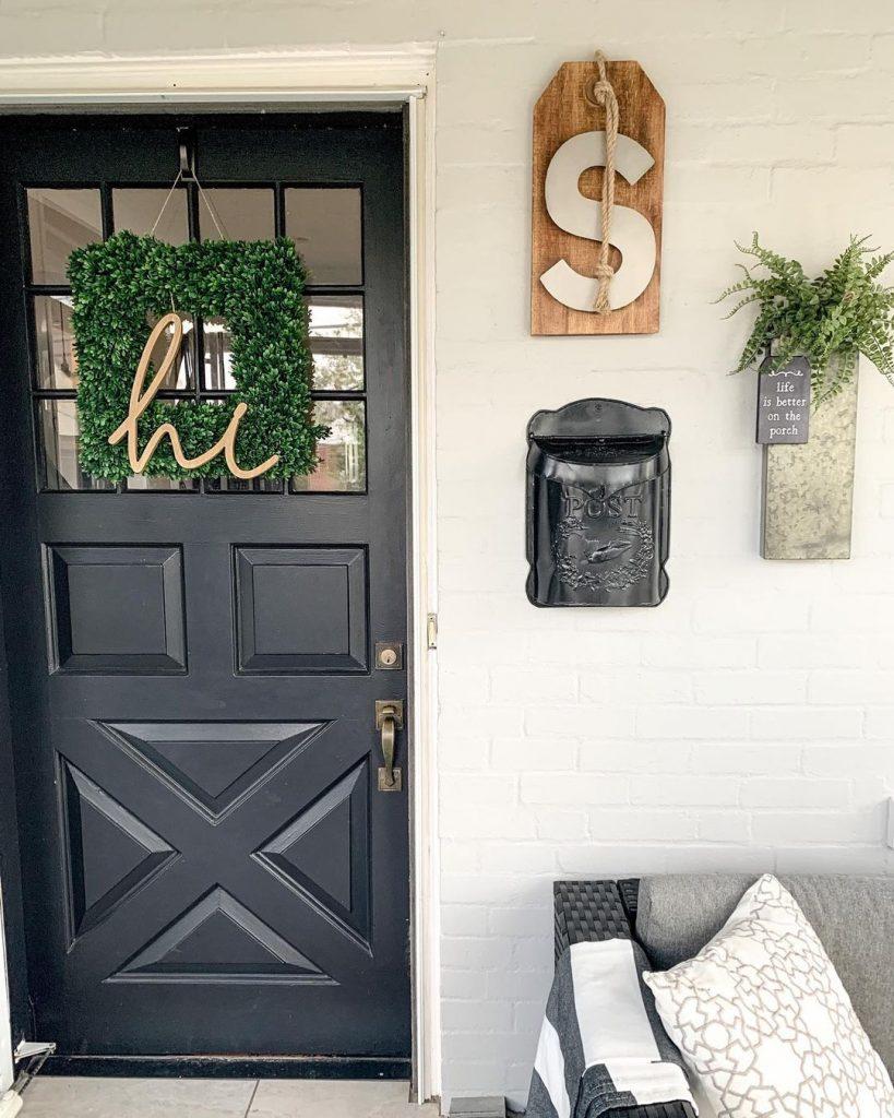 wreath-sign
