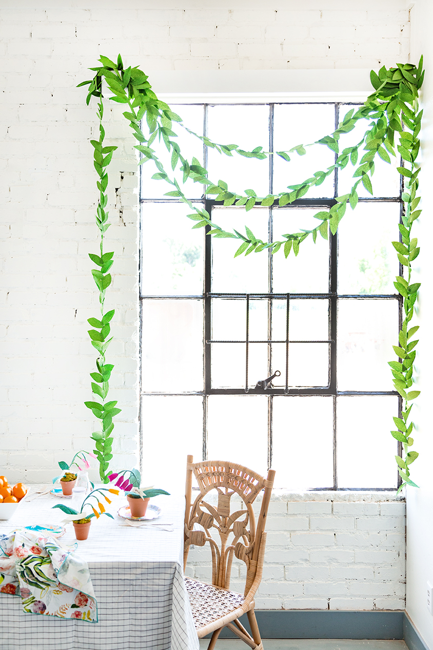 How to Hang a Garland